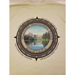 Glacier National Park Mens XL Long Sleeve Shirt